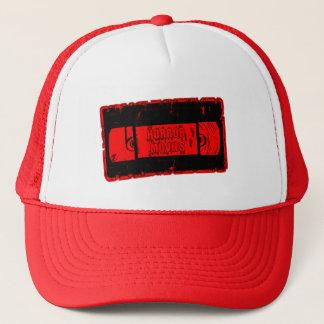 Horror Movies -Video Cassette Red/Black Trucker Hat