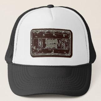 Horror Movies - Video Cassette Red Grey Trucker Hat