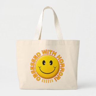 Horror Obsessed Smile Canvas Bag