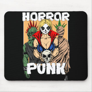 Horror Punk Mouse Pad