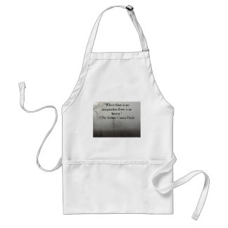 Horror Quote Apron