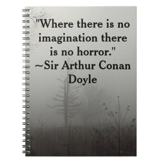 Horror Quote Notebook