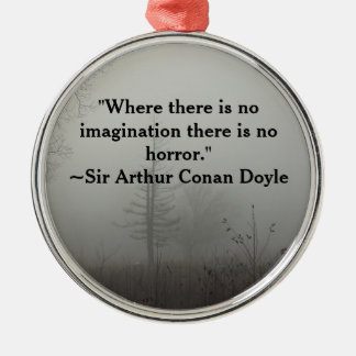 Horror Quote Ornament