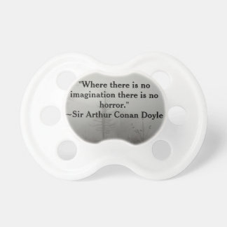 Horror Quote Pacifier