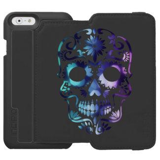Horror Skull Symbol Incipio Watson™ iPhone 6 Wallet Case