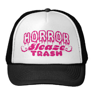 HORROR SLEAZE TRASH MERCH! TRUCKER HAT