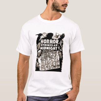 Horror Strikes at Midnight T-Shirt