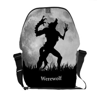 Horror Werewolf Full Moon Transformation - Cool Messenger Bags