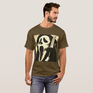 Horror With Face the Knife T-Shirt