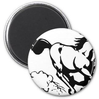 horse-1564370 2 inch round magnet