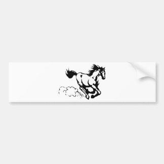 horse-1564370 bumper sticker