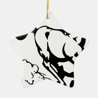 horse-1564370 ceramic star ornament
