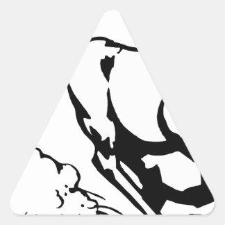 horse-1564370 triangle sticker