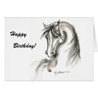 Horse 1 card