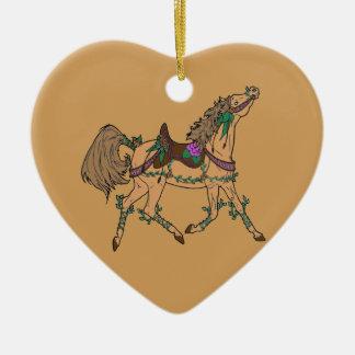 Horse 2 ceramic ornament