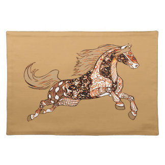 Horse 3 placemat
