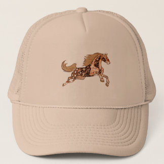 Horse 3 trucker hat
