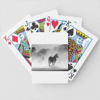 horse-430441 bicycle playing cards