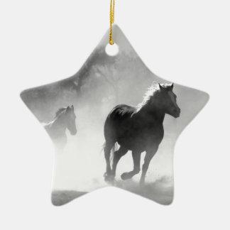 horse-430441 ceramic star ornament