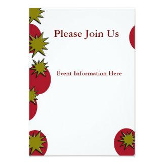 "Horse 5"" X 7"" Invitation Card"