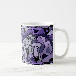 Horse Abstract Art Design Coffee Mug