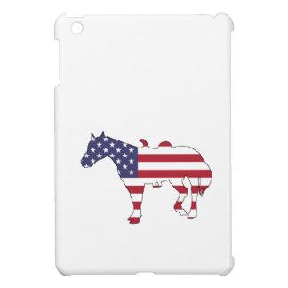 "Horse ""American Flag"" iPad Mini Cover"