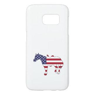 "Horse ""American Flag"" Samsung Galaxy S7 Case"