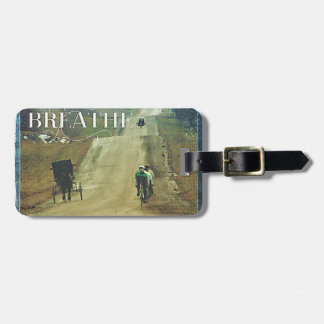 Horse and Buggy and Bicycles Luggage Tag