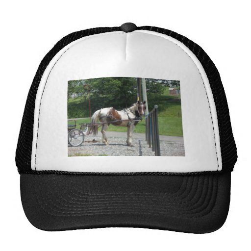 Horse and Buggy Trucker Hats