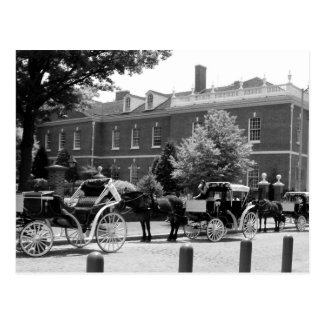 Horse And Carriage Philadelphia Postcard