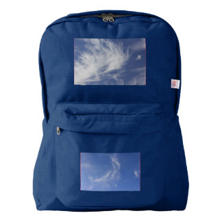 Horse and Eagle Totem Clouds Backpack