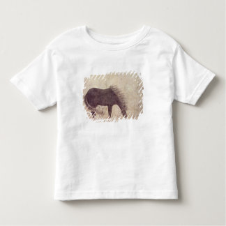 Horse and Groom in Winter Tees