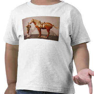 Horse and groom, Tang Dynasty Shirt