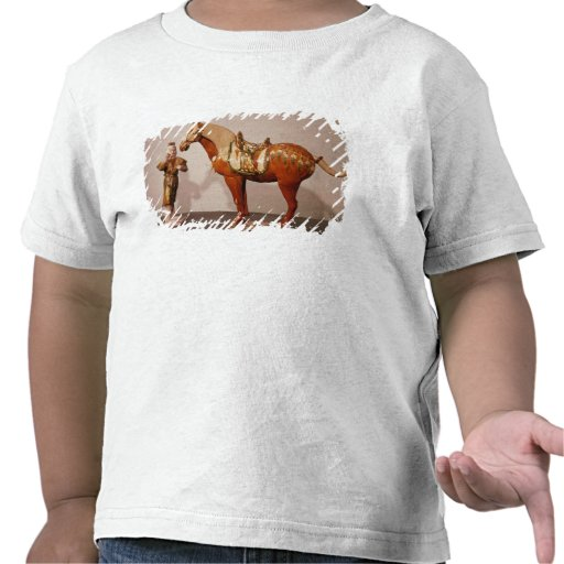 Horse and groom, Tang Dynasty Tee Shirts
