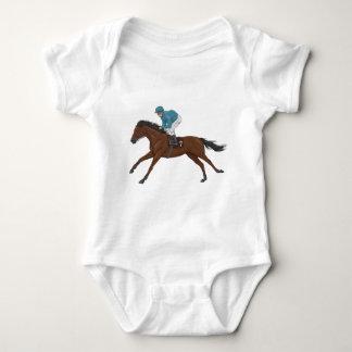 Horse and Jockey Baby Bodysuit