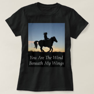 Horse and Rider Silhouette T-Shirt