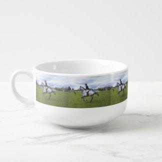 Horse And Rider Soup Mug
