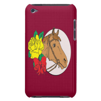 Horse and Rose Case-Mate iPod Touch Case