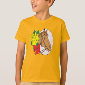 Horse and Rose T-Shirt