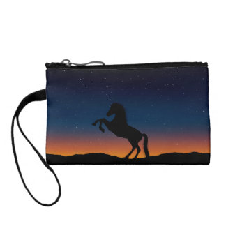 Horse Animal Nature Coin Purse