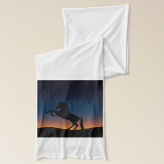 Horse Animal Nature Scarf