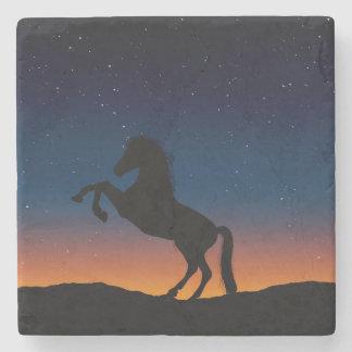Horse Animal Nature Stone Coaster