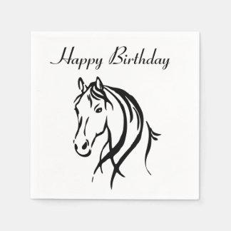 Horse Animal Theme Party Paper Napkins