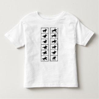 Horse Animation Frames Toddler T-shirt