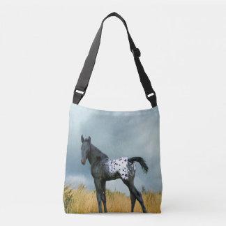 Horse Appaloosa Colt All Over Print Cross Body Bag