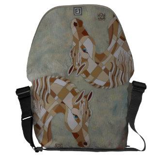 Horse Art Messenger Bag