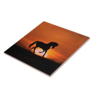 Horse Art Tile