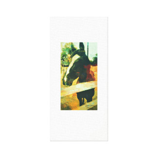 Horse Art Work Canvas Print