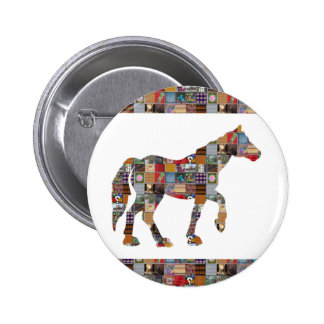 HORSE Artistic Collection Patches FUN NVN477 gifts 2 Inch Round Button