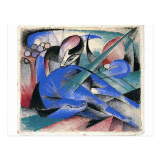 Horse Asleep by Franz Marc Postcard